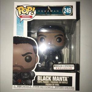 Funko Pop Unmasked Black Manta Regal Cinema